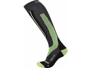 Husky Podkolenky  Snow-ski zelená  ponožky