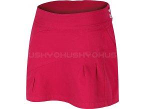 Husky Dámská sukně  Fesy růžová