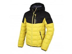 Husky Pánská sportovní péřová bunda   Flory M žlutá