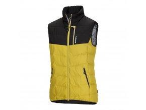 Husky Pánská péřová vesta  Florel M žlutá