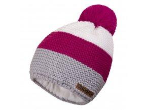 Husky čepice   Hat 4 růžová