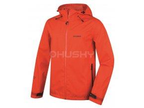 Husky Pánská outdoorová bunda   Lamy M oranžová