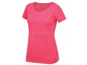 Husky Dámské triko   Taury L růžová