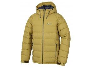 Husky Pánská péřová bunda   Heral M žlutá