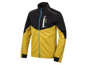 Husky Pánská fleecová bunda   Avely M žlutá