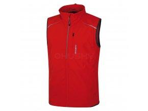 Husky Pánská softshell vesta Tony červená