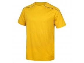 Husky Pánské triko   Taury M žlutá