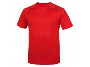 Husky Pánské triko   Taury M červená