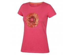Husky Dámské triko   Tarja růžová