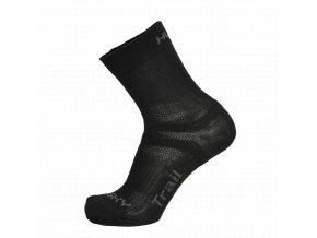 Husky Ponožky   Trail černá