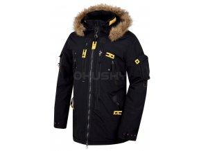 Husky Pánská plněná zimní bunda  Nerida černá