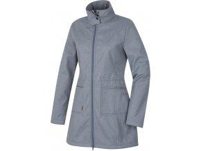 Husky Dámský softshellový kabátek   Sivien L šedá