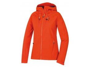 Husky Dámská softshell bunda   Summy L oranžová