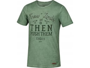 Husky Pánské triko   Tempu M zelená