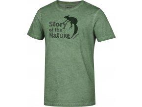 Husky Pánské triko   Tendr M zelená