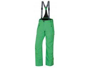 Husky Pánské lyžařské kalhoty  Mithy M sv. zelená