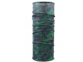 Husky multifunkční šátek   Printemp zeleno-černá
