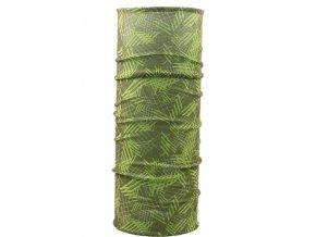 Husky multifunkční šátek   Printemp sv. zelená/zelená