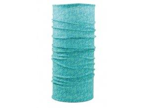 Husky multifunkční šátek   Printemp zelená