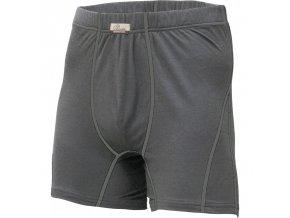 Lasting NICO 8080 šedé vlněné Merino boxerky