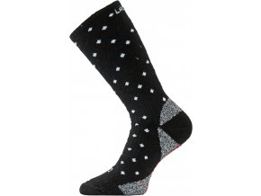 Lasting  SWJ 903 černá Lyžařské ponožky