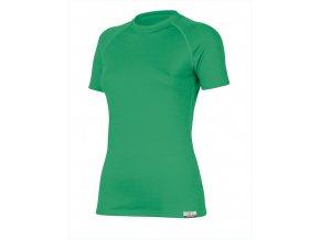 Lasting  ALEA 6300 zelené vlněné merino triko