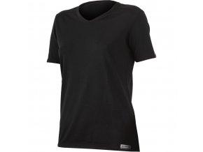Lasting  EMA 9090 černé  vlněné merino triko (Velikost XXL)