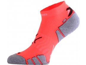 Lasting  RUN 200 lososová běžecké ponožky