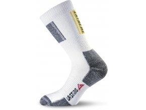 Lasting  EXT 001 bílé trekingové ponožky