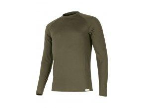 Lasting ATAR 6363 zelené vlněné merino triko