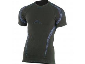 Lasting  STES 9050 černé termo bezešvé triko