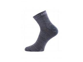 Lasting WHO 504 modré ponožky z merino vlny  ponožky