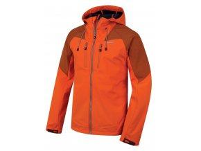 Husky Pánská softshell bunda   Summy M oranžová