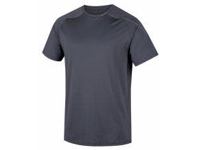 Husky Pánské triko   Taury M tm. šedá