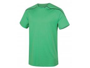 Husky Pánské triko   Taury M sv. zelená