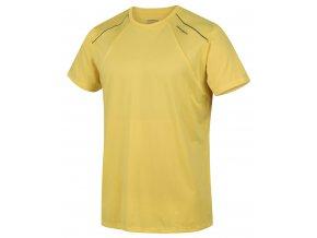 Husky Pánské triko   Telly M sv. žlutá