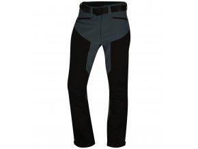 Husky Pánské outdoor kalhoty   Krony M černý mentol
