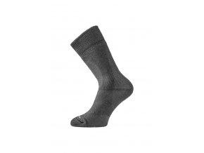 Lasting TKH 909 černé zimní ponožky z ionty stříbra  ponožky