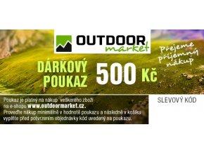 Outdoormarket darkovy poukaz 1000 varB