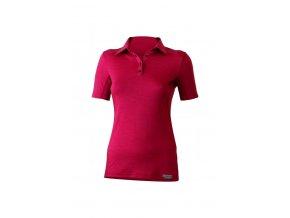 Lasting ALISA 4747 růžové merino triko dámské