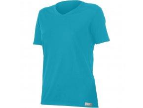 Lasting  EMA 5858 modré  vlněné merino triko