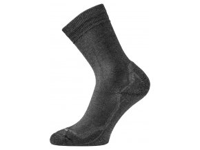 Lasting WHI 909 černé vlněné ponožky  ponožky