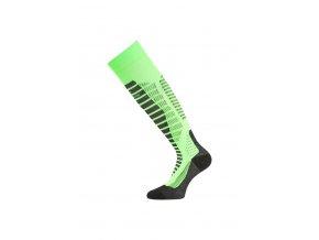 Lasting WRO 609 zelené lyžařské podkolenky  ponožky