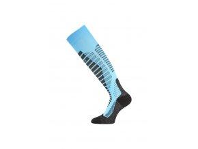 Lasting WRO 509 modré lyžařské podkolenky  ponožky
