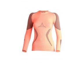 Lasting RELA 2090 lososové termo bezešvé triko