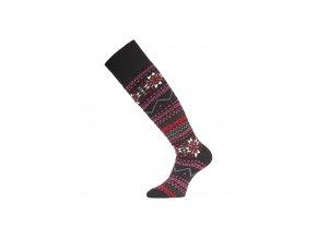 Lasting SKW 903 černá merino ponožky lyžařské  ponožky