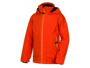 Husky Dětská ski bunda   Zengl Kids tlumená oranžová