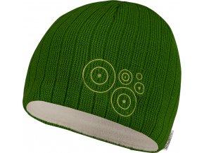 Husky čepice   Ring zelená