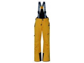 Husky Dětské lyžařské kalhoty  Zeus Kids krémově žlutá