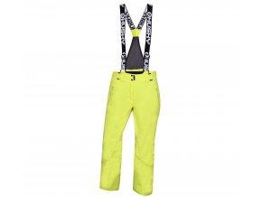 Husky Dámské lyžařské kalhoty  Mithy L zelenožlutá